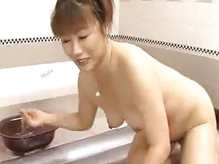 Hairy Japanese Mom and NOT her Son - unsencored-