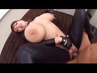 Japanese Huge Tits Fucked In Leather - Hitomi Tanaka